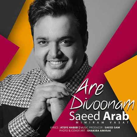 Saeed Arab Are Divoonam دانلود آهنگ جدید سعید عرب آره دیوونم